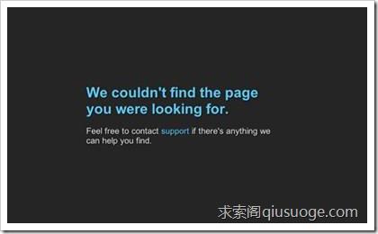 WordPress 404错误页面大观园
