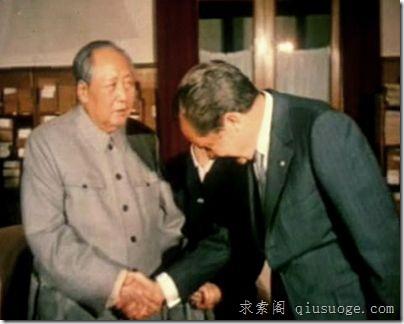 中美博羿,毛泽东从容唱主角