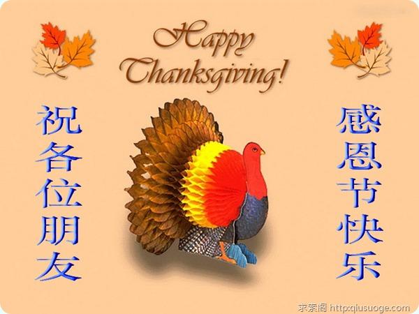 2010年感恩节祝福语荟萃