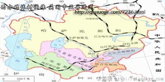 井底望天:西方媒体树偶像 美国中亚寻通道