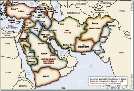 井底望天:闲话中东千年史 再谈美国叙利亚