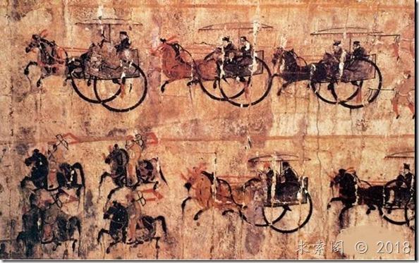 白云先生:颜回骑着老虎,在秋天里漫游